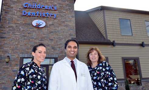 Doctor and His Staff - Pediatric Dentist and Orthodontics  in Chicopee, Springfield and Ludlow, MA