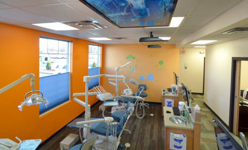Hygiene Room - Pediatric Dentist and Orthodontics  in Chicopee, Springfield and Ludlow, MA