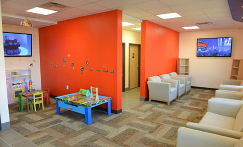 Waiting Room - Pediatric Dentist and Orthodontics  in Chicopee, Springfield and Ludlow, MA